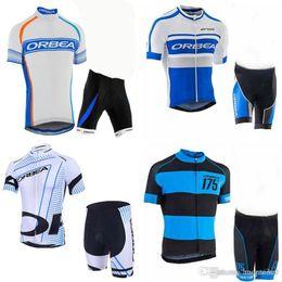 2019 camisetas de ciclismo orbea Equipo ORBEA Ciclismo mangas cortas jerseys cortos conjuntos Bike Suit Mens Ciclismo Ropa Transpirable y de secado rápido c2305 rebajas camisetas de ciclismo orbea