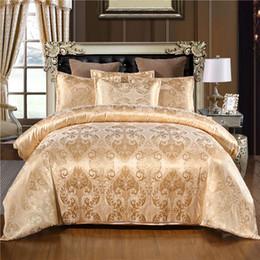 WarmsLiving lujo Jacquard cama determinada individual Reina extragrande Ropa de cama cubierta del edredón 100% poliéster cómoda funda nórdica conjunto T200108 desde fabricantes
