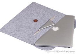 2020 cuoio manica ipad Borsa per notebook UK 13.3 15.6 pollici per l'aria del macbook 13 casi Laptop Sleeve Custodia per MacBook Pro 13 Pelle Donna aria di MacBook Pro 11 12 13 15 cuoio manica ipad economici