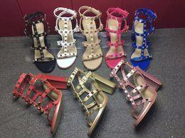 Schöne pantoffeln online-2019 Schöne Frau mit High Heels Sandalen importiert Leder weibliche Sandalsdesigner hat Tag weibliche Hausschuhe Damenmode High Heels