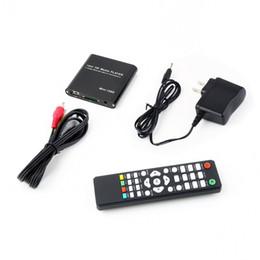 Lectores de alta definición online-Hot 1set 1080P Mini Media Player MKV / H.264 / RMVB Full HD con promoción de lector de tarjetas HOST