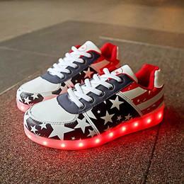 hombre adulto enciende zapatos Rebajas Hombres Basket Light Up Led Shoes Zapatos para hombre Led Schoenen Unisex Casual Lovers Homme Luminous Femme Chaussures Lumineuse para adultos X8YY8 X