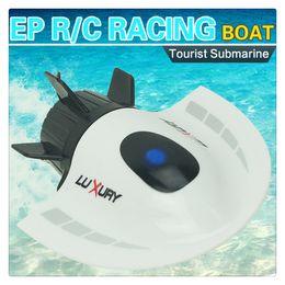 2019 servo de alto torque Rádio de controle remoto submarino barco de brinquedo de corrida modelo de barco rc à prova d 'água brinquedos elétricos presente para as crianças podem brincar nas piscinas