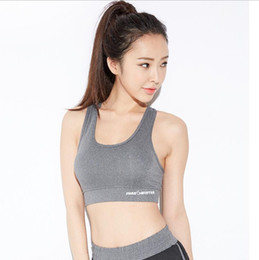 362551a6c3 Sexy Yoga Tops For Women Wholesale Fitness Breathe Sportswear Outdoor Running  Gym Sports Bra Free Shipping