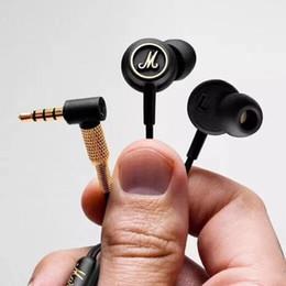 2019 monitores de telefone celular 2019 Modo Marshall EQ Fone De Ouvido Com Microfone DJ Hi-Fi Fones De Ouvido HiFi Headset Professional DJ Monitor de fone de ouvido para celular desconto monitores de telefone celular