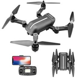 S3 pieghevole online-5.8G Remote Control Brushless Quadcopter GPS Surround Drone pieghevole con trasmissione 5G Picture Wide Angle 1080P Camera per S3