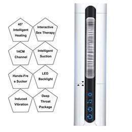 2019 chupar tazas La masturbación masculina chupar taza aviones pronunciación interactiva calefacción eléctrica automática de masaje vaginal femenina verdadera