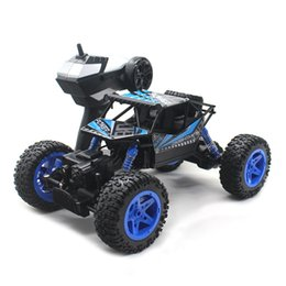 полицейский удаленный автомобиль Скидка Rock Crawler 1:18 Electric RC Car Remote Control Toys Cars On The Radio Control Toys For Children Boys Outdoor Fun 1100