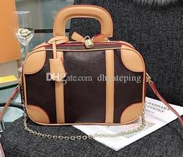 2020 saco marrom do desenhista Bolsa de Designer de estilo aristocrático de alta qualidade clássico moda bolsas elegante bolsa de mulher bolsa de ombro de compras moda sacos de Brown preto desconto saco marrom do desenhista