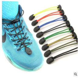2019 sperrschuhe fauler Schuh lsces, das Schnürsenkel kein Bindungsschuh sichert, schnürt neue kreative elastische verschlossene elastische lace.22 Farben der Schnürsenkelsicherheit, um zu wählen rabatt sperrschuhe