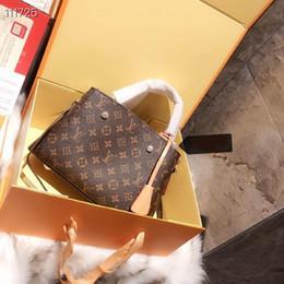 Borse stella online-VENDITA CALDA Designer Donna Luxury Cluny BB Montaigne Borse Rivoli Marrone Pelle Lady Fashion Top Maniglia Borse Catena Party Tote Con Scatola