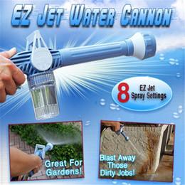 Wasserkanonen online-8 in 1 Jet Wasserkanone Multifunktionales Wasserkanone Spray Gun Gartenbewässerung Geräte Autowaschanlagen Werkzeuge FFA1088