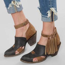 mitte fersen sommer stiefel Rabatt Puimentiua 2019 Neue Sommer Frauen Stiefel Mid Heels Schuhe Pu-leder Stiefeletten Niet Schnalle Täglichen Schuhe Weibliche Kurze