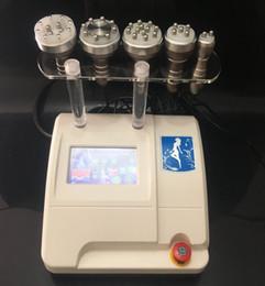 Maquina de radio frecuencia profesional online-Profesional 5 en 1 cavitación ultrasónica RF de vacío Cavitación de radiofrecuencia multipolar RF que adelgaza la máquina para la cara y el cuerpo