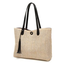 Discount Large Woven Beach Bags Large Woven Beach Bags 2019 On
