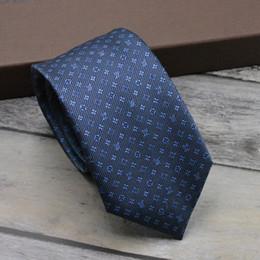Designer men s gifts online-Diseñador corbata de alta calidad para hombre traje formal corbatas de negocios 100% seda corbata de jacquard de alta calidad caja de regalo corbata bordado embalaje 2 colores