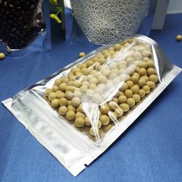 9x14cm,100 шт. х многоразовые встать полупрозрачный алюминиевый zipLock сумки-передняя ясно серебристый покрытие майларовая фольга пластиковый мешок молния клип печать от