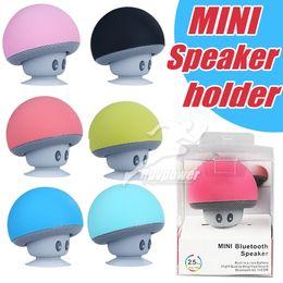 2019 haut-parleurs bluetooth Hot Cartoon mini champignon sans fil Bluetooth haut-parleur portable portable promotion haut-parleurs bluetooth