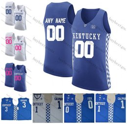 9149d28a3 Benutzerdefinierte NCAA Kentucky Wildcats   2 Vanderbilt 25 PJ Washington  14 Tyler Herro 2 Hagans College-Basketball-Trikots Jede Name-Nr jersey  number 2 ...
