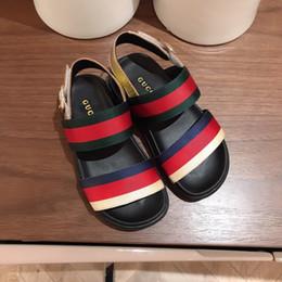 Niños Niños Niñas Sandalias Zapatos Moda de Verano Bowknot Niñas Princesa Plana Zapatos Niños S Niñas Zapatos Envío de la gota 0701 desde fabricantes