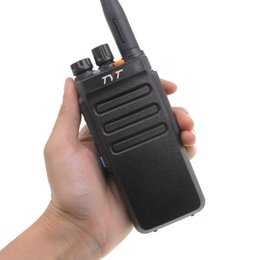 2020 tyt walkie talkie radio Walkie-Talkie TYT MD730 Dualband DMR Radio digitale Intercom Tier 12 Zweiwegradios MD730 Dual Zeitschlitz professionelle Transceiver günstig tyt walkie talkie radio