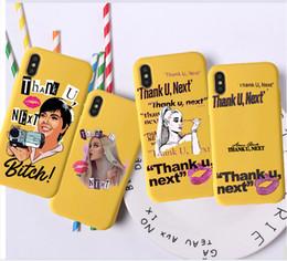 Telefones celulares de cor amarela on-line-Next Ariana Grande candy color caso de telefone móvel para iphoneX 7 8 XS XR luxo rosa vermelho amarelo roxo branco shell
