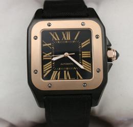 correias de relógio de tecido mens Desconto Top venda mens Watch CAR BALLON W7100037 movimento automático Mecânico Mens Relógios Teclado De Pulso Relógio Fidel Fecho frete grátis