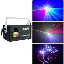 Sistema di proiezione laser ILDA + SD + 2D + 3D 1500mW RGB mutil-color / attrezzatura per DJ / luce laser / luce scenica / luce laser per vacanze / laser da