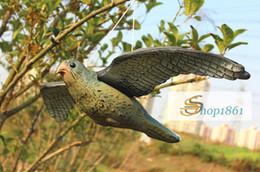 pássaro pardal atacado Desconto Atacado-Flying Hawk Bird Scare Chamariz Pest Control Jardim Cuidados Deter Scarer Atacado