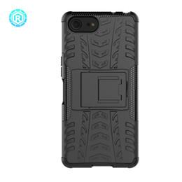 Roiskin Dazzle Case Armor Estuche para teléfono celular fresco Kickstand a prueba de golpes TPU + PC CUBRE ATRÁS para Sony Xperia XZ4 Funda móvil compacta desde fabricantes