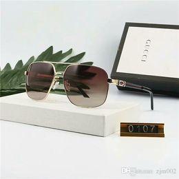 bonnes marques de lunettes de soleil Promotion Marque design Lunettes de soleil femmes hommes rétro Designer de marque Bonne Qualité Mode métal Lunettes de soleil surdimensionnées vintage femme mâle