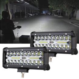 2019 nebelscheinwerfer für atv 7inch LED Lichtstrahl 120W Offroad Fahrlichter LED-Hülsen Spot Flood Combo Strahl Nebelscheinwerfer Wasserdichte Led Arbeitsscheinwerfer für UTV ATV Jeep Truck rabatt nebelscheinwerfer für atv