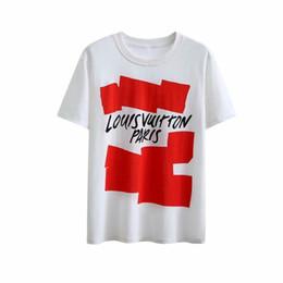 Nuevos patrones para camisetas online-Diseñador de moda para hombre Camisa de verano Tops Casual StyleT Camisas Mujer Camisa de manga corta Ropa Patrón de letras Camisetas impresas Nuevas llegadas