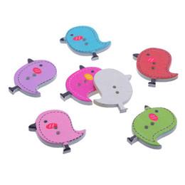 Hohe Qualität Holz 2 Löcher Mischfarbe 15mm Pentagram Chromatic Cute Sewing Buttons Sewing Zubehör von Fabrikanten