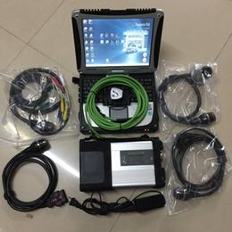 software de programación bmw Rebajas Herramienta de diagnóstico de la nueva llegada 2019 MB STAR C5 con CF-19 toughbook laptop 4g ram run rápido instalado 360gb ssd