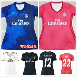 1242d79e2cd43 jerseys mujer rosa Rebajas 18 19 nueva temporada   10 MODRIC Camiseta de  fútbol del Real