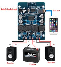 Amplificador de áudio 24v on-line-XH-M314 TPA3118 2x45W 12V 24V de áudio estéreo Bluetooth poder Digital Amplifier Board amplificador