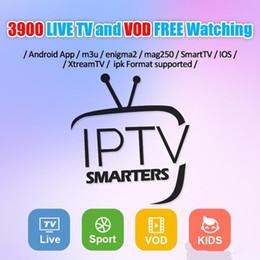 2019 canales de deportes iptv Suscripción IPTV 3/6/12 meses Soporte para ver 3800+ Canales en vivo TV y 4500+ Canales VOD Europa Árabe Deportes EE. UU. canales de deportes iptv baratos