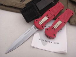 Üst kalite! Benchmade Infidel 3310BK 3300 C07 HK taktik Bıçak Çift etkili Otomatik Düz EDC BM42 dişli cebi hayatta kalma bıçaklarını bıçaklar. nereden rus bıçakları tedarikçiler