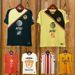 7036194f3 2018 2019 Mexico LIGA MX Club America Soccer Jerseys Home 18 19 Apertura  A18 CAMPEON Third Xolos de Tijuana Chivas Tigres football shirt