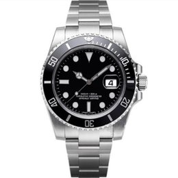 2019 orologi di lusso di immersione di lusso Movimento Movimento Orologi uomo di qualità superiore uomini in acciaio meccanico automatico di vigilanza di originale 2813 impermeabile orologio da polso Sapphire