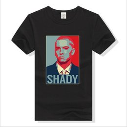 ropa deportiva s estrella Rebajas Star shandy camiseta impresa de moda hip hop camiseta de manga corta eminem casual hombres ropa deportiva outwear