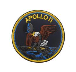 Deutschland Fashion Luxury Designer NASA Apollo Stickerei Magic Arm Aufkleber Außentasche Zubehör Qualitäts-Plattform Versorgung
