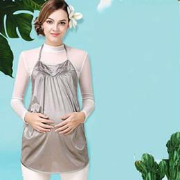 2019 anti-strahlung kleidung schwangere frauen Große strahlungssichere Umstandsmode ist authentisch für die Arbeit, und modische Büroangestellte von Frauen tragen außerhalb von Duri Bauchband-Kleidung