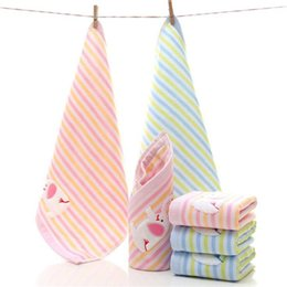 baby bath towel square Coupons - 2pcs Lots Cute Elephant Baby Face Towel Microfiber Absorbent Drying Bath Beach Towel Washcloth Swimwear Kids Baby Cotton
