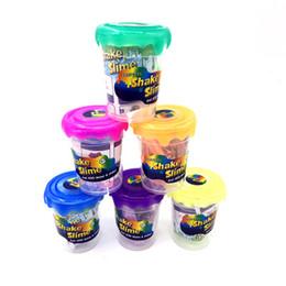 En gros 12 couleurs bricolage slime coloré argile de boue de cristal peut dessiner slime enfants éducatif handgum intelligent drôle jouets en cristal argile jouet ? partir de fabricateur