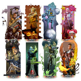 legend toys Promo Codes - Apex legends Action stand Figures 22cm cartoon game Acrylic Collection Gift Party Decor kids toys C6156