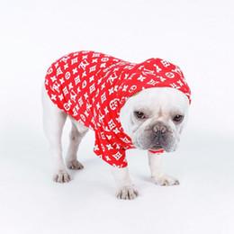 2020 ropa de gato de diseñador Diseñador Pet Dog Cat Hoodies Moda Lovely Teddy Puppy Schnauzer Ropa para perros Moda Pet Outwear Ropa Suministros para perros up11 ropa de gato de diseñador baratos