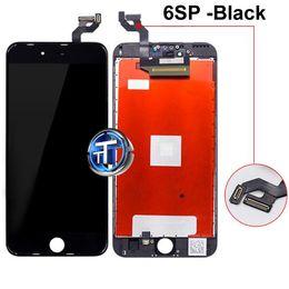 2019 taccuino blu Display LCD con Touch Screen Sostituzione Assemblaggio completo Buon 3D Touch per iPhone 5S 6 6P 6S 6SP 7 7P 8 Plus con Camera Ring e Sponge
