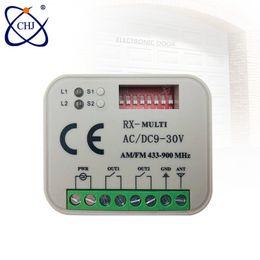Rf modulo relè online-Multi 280-868 mhz Universal Wireless Control Switch 2ch Relay Module Modulo E Rf 433 Mhz Telecomandi J190523
